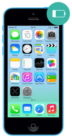 Réparer iPhone 5c batterie