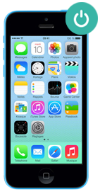 Réparer iPhone 5c bouton power