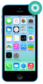 Réparer iPhone 5c camera arriere