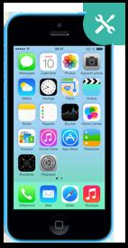 Réparer iPhone 5c écran cassé