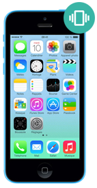 Réparer iPhone 5c vibreur