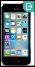 Réparer iPhone 5s vitre arriere