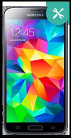 Réparer Samsung Galaxy S5 écran cassé