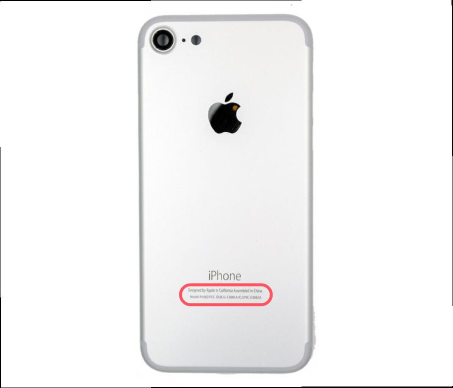 identifier modele iphone